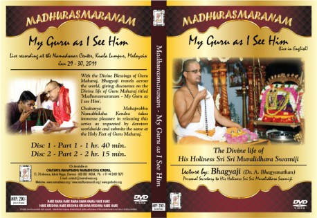 MADHURASMARANAM MALAYSIA JAN 29,30,2011 - ENGLISH E-VIDEO